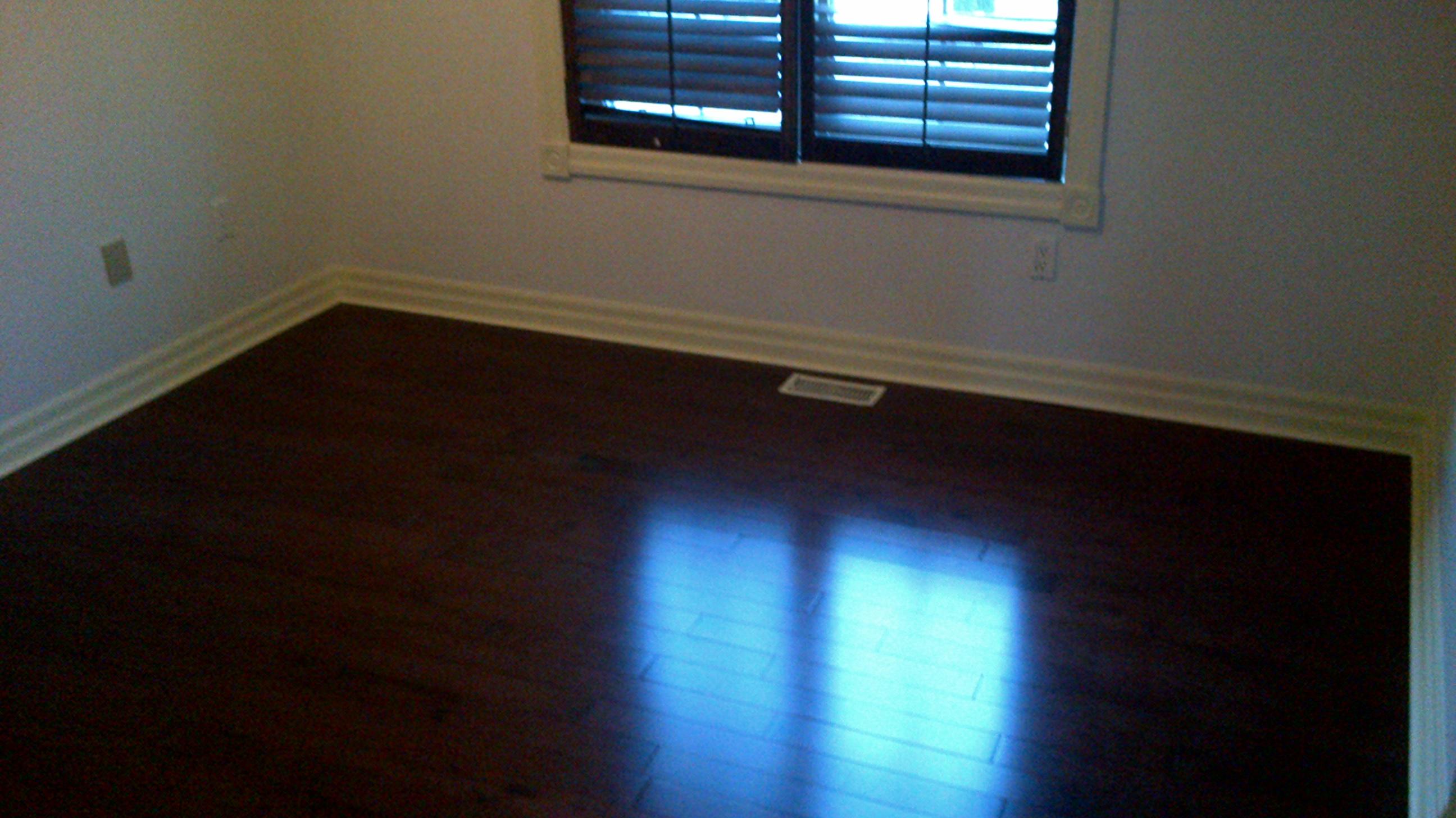 Hardwood flooring new install